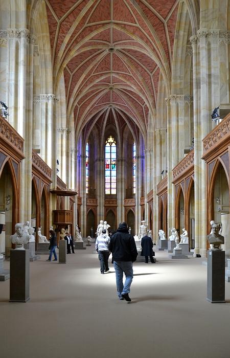 Kirchenraum und Chor, Friedrichswerdersche Kirche, Berlin, Fabian Fröhlich