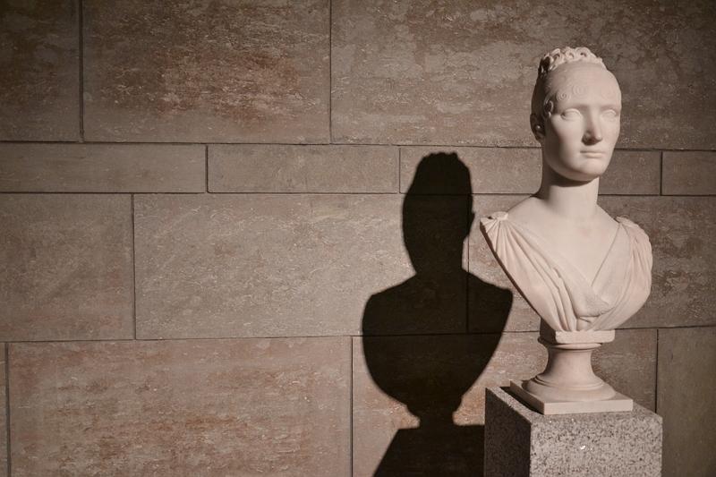 Neue Pinakothek, München, Lorenzo Bartolini, Fürstin Elisa Bacciochi