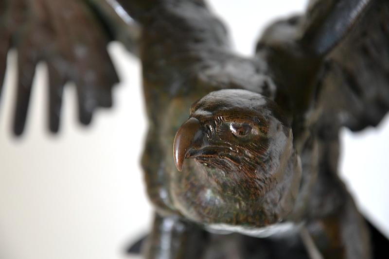 Neue Pinakothek, Antoine Louis Barye, Adler, Fabian Fröhlich