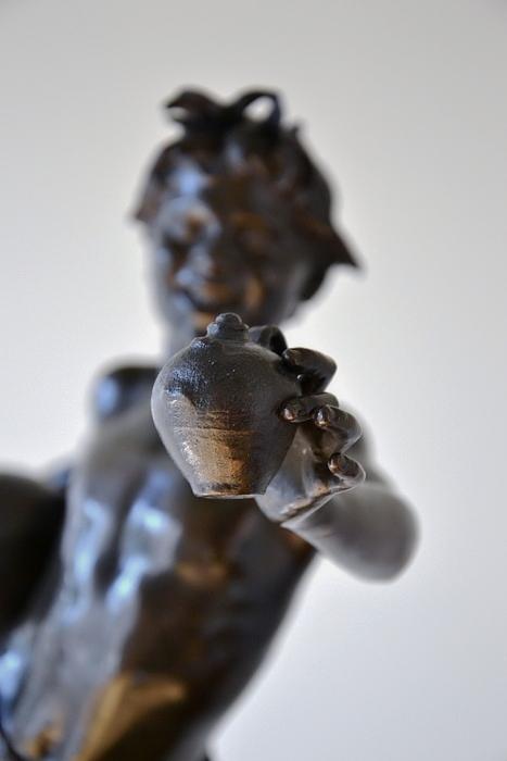 Neue Pinakothek, München, Vincenzo Gemito, Der Wasserverkäufer, Fabian Fröhlich