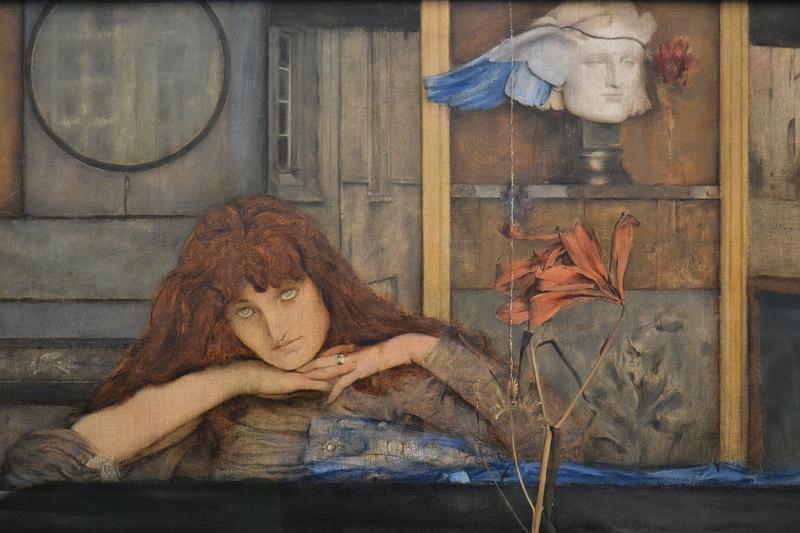 Neue Pinakothek, München, Fernand Khnopff, I lock my door upon myself, Fabian Fröhlich