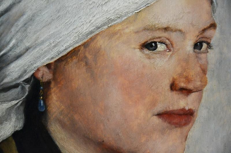Neue Pinakothek, München, Wilhelm Leibl, Mädchen mit weißem Kopftuch, Fabian Fröhlich