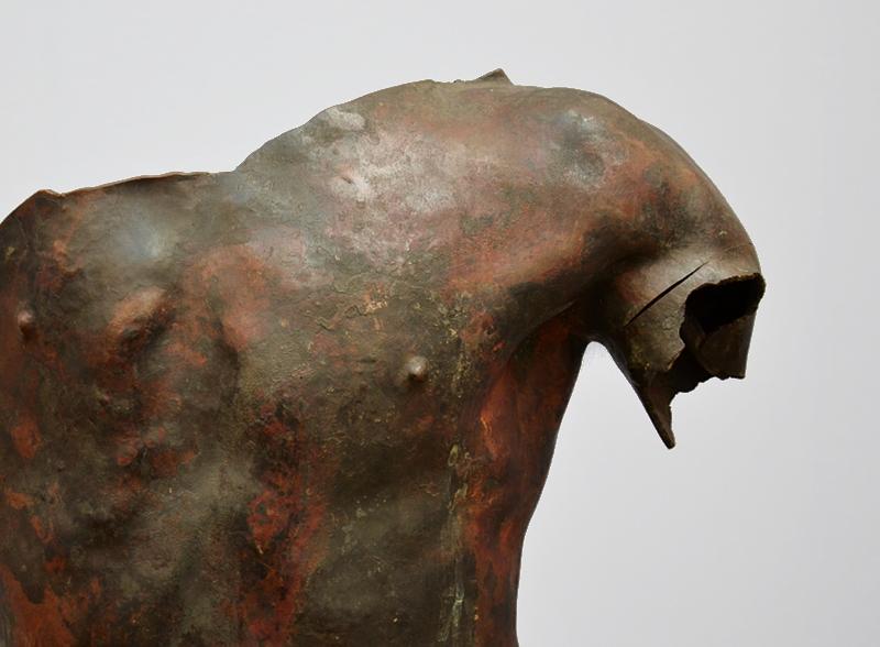 Neue Pinakothek, München, Auguste Rodin, Das eherne Zeitalter (brandbeschädigt), Fabian Fröhlich