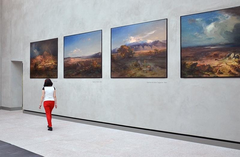 Neue Pinakothek, München, Carl Rottmann, Griechische Landschaften, Fabian Fröhlich