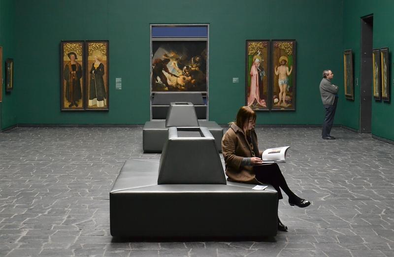 Städel Museum, Besucher, Rembrandt Blendung Polyphems Fabian Fröhlich