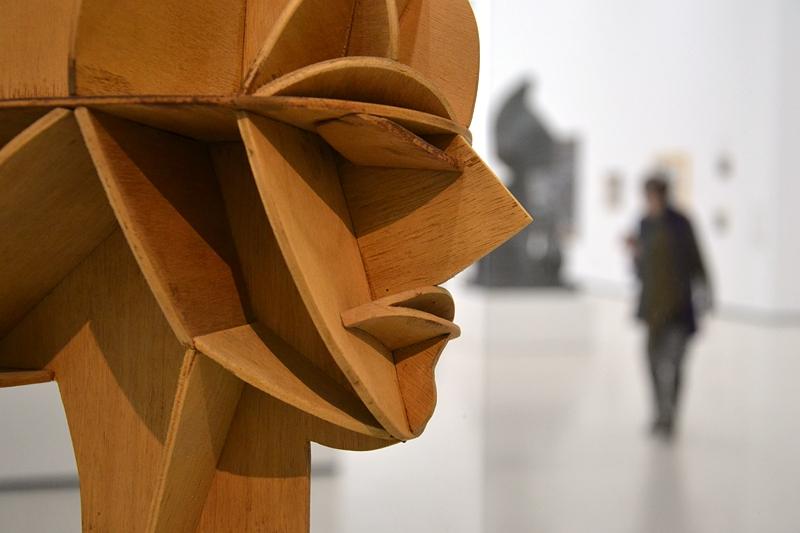 Städel Museum, Naum Gabo, Konstruktiver Kopf, Fabian Fröhlich