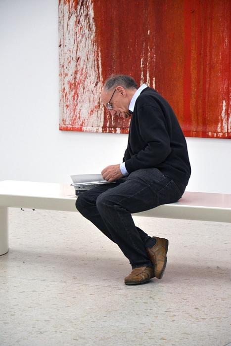 Städel Museum, Hermann Nitsch, 28. Malaktion (rot), Fabian Fröhlich