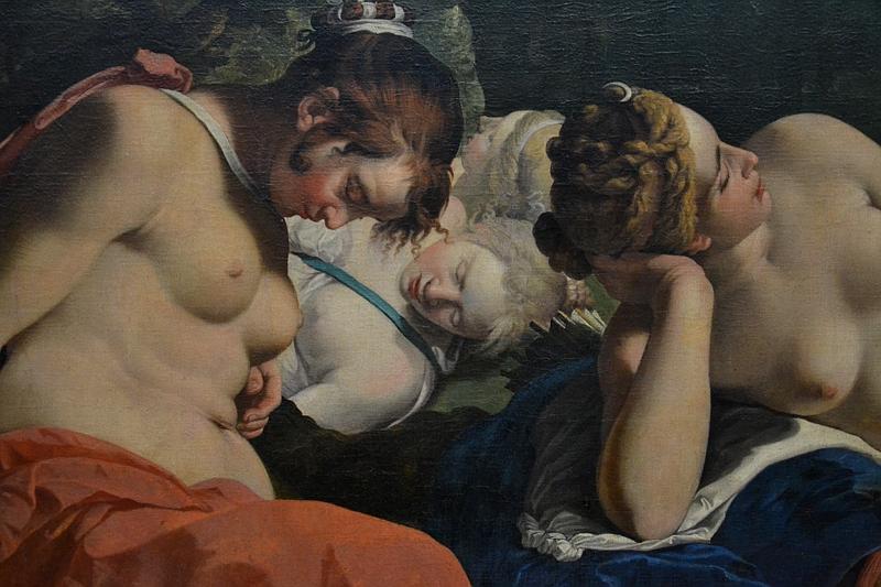 Kassel, Gemäldegalerie Alte Meister, Schloss Wilhelmshöhe, Abraham Janssens, Diana mit Nymphen