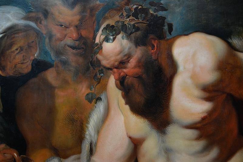 Kassel, Gemäldegalerie Alte Meister, Schloss Wilhelmshöhe, Peter Paul Rubens (Werkstatt), Der trunkene Silen