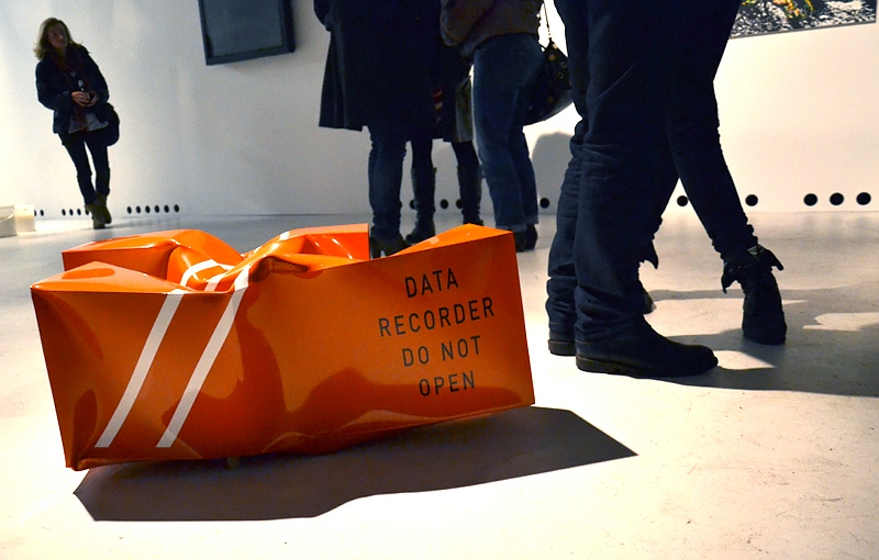 Kassel, this is not the end, Oliver van den Berg, Datarecorder