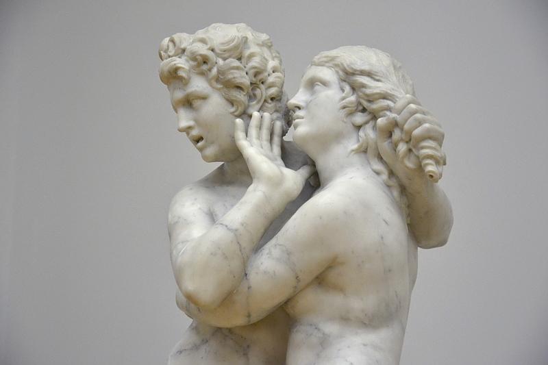 Bode-Museum, Skulpturensammlung, Laurent Delvaux, Biblis und Caunus, Fabian Fröhlich