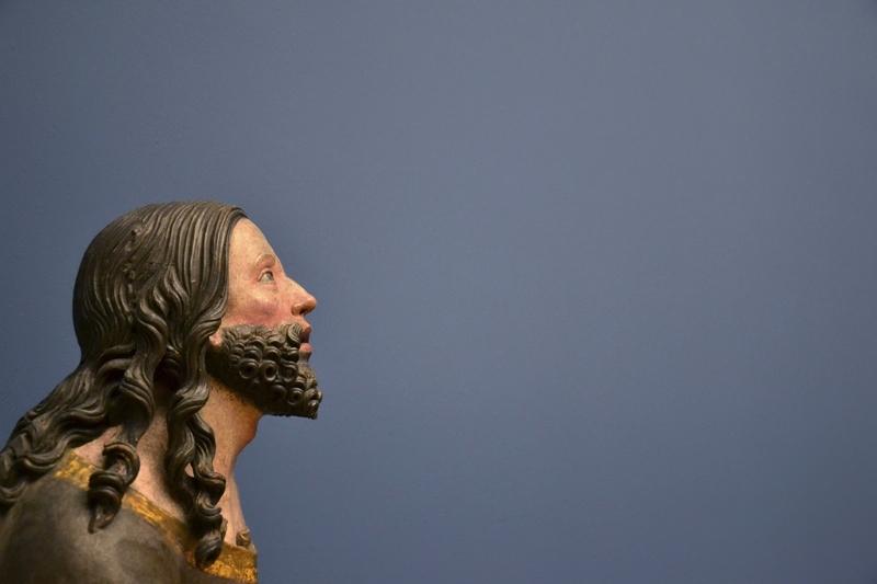 Bode-Museum, Skulpturensammlung, Meister von Rabenden, Christi Gebet am Ölberg, Fabian Fröhlich