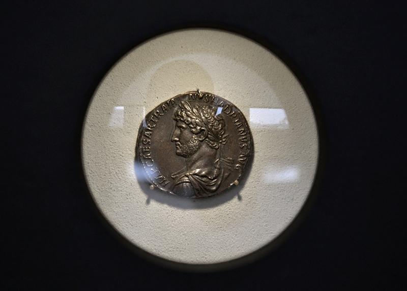 Bode-Museum, Münzsammlung, Hadrianus-Medallion, Fabian Fröhlich