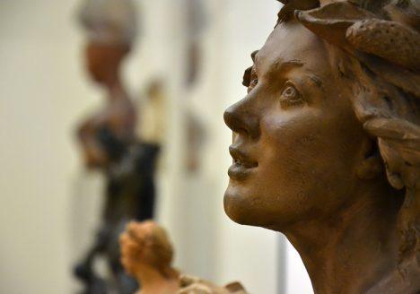 Bode-Museum, Skulpturensammlung, Jean-Baptiste Pigalle, Triton, Fabian Fröhlich