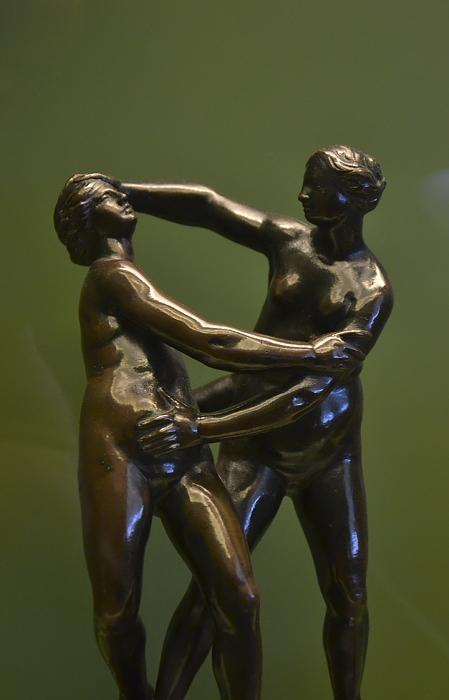 Bode-Museum, Skulpturensammlung, Ringerinnen, Fabian Fröhlich