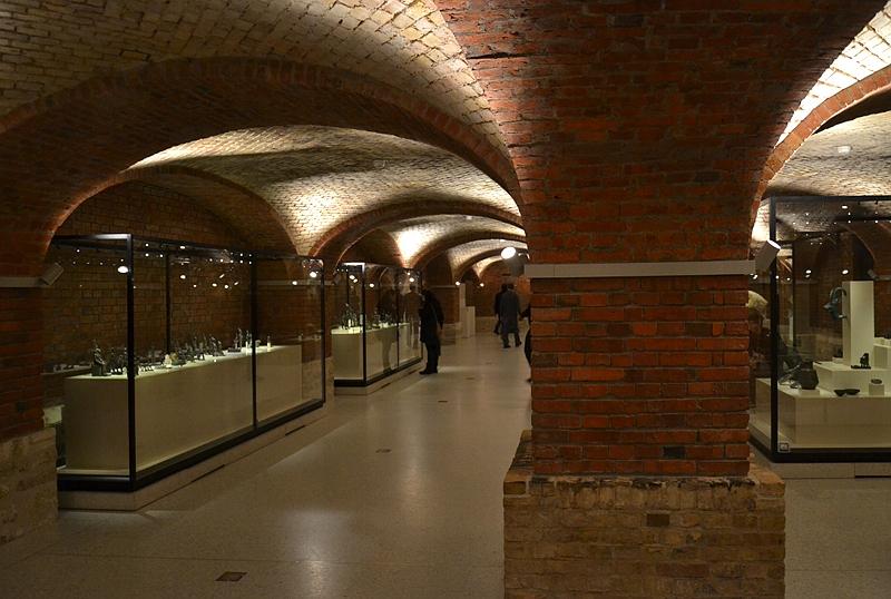 Neues Museum, Untergeschoss, Fabian Fröhlich, Berlin