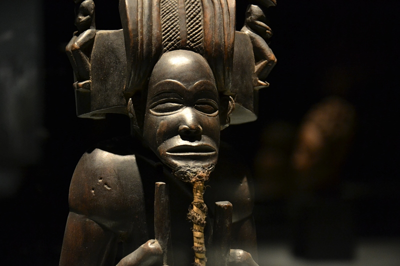 Ethnologisches Museum Berlin-Dahlem, Figur des Chibinda Ilunga aus Angola