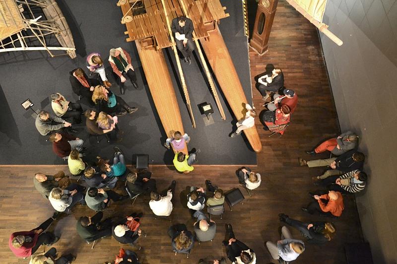 Ethnologisches Museum Berlin-Dahlem, Lesung aus In 80 Tagen um die Welt