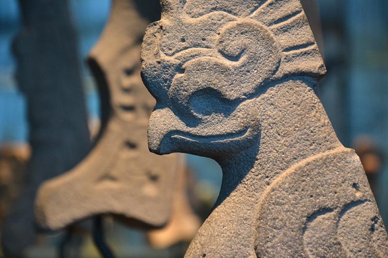 Ethnologisches Museum Berlin-Dahlem, Skulptur der Tajin-Kultur