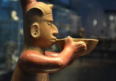 Ethnologisches Museum Berlin-Dahlem, Skulptur aus Westmexiko