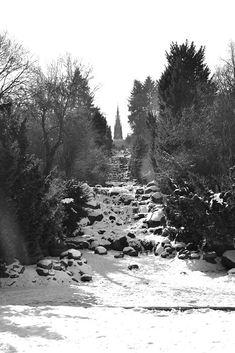 Kreuzberg, Viktoriapark, Wasserfall, Winter, Fabian Fröhlich
