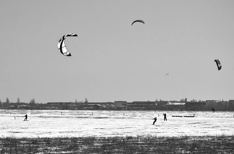 Tempelhofer Park Winter