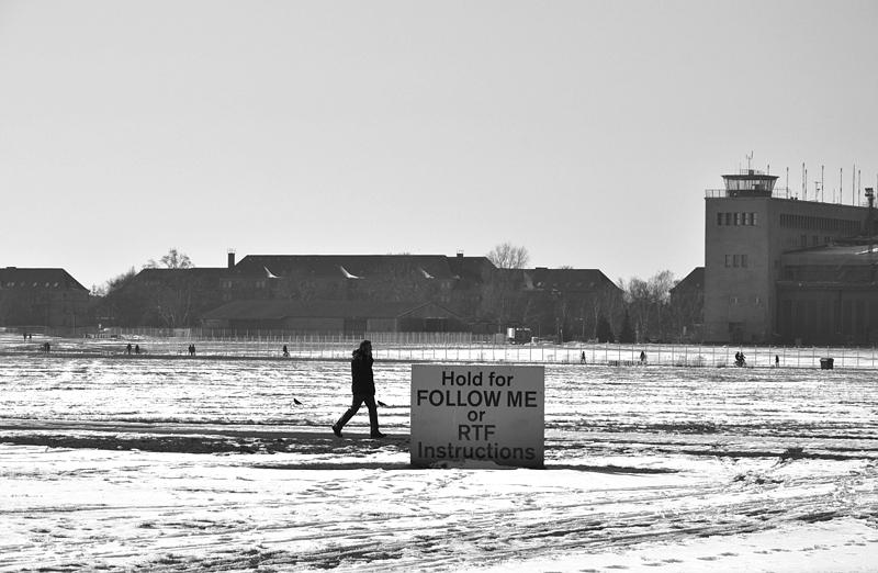 Tempelhofer Park, Winter