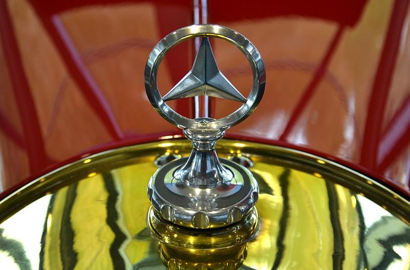 Autostadt Wolfsburg, Mercedes 6/25/40 PS