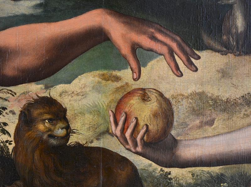 Bonnefantenmuseum Maastricht, Jan van Hemessen, Zondeval