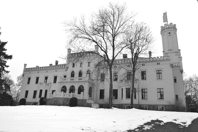 Schloss Reichenow, Brandenburg, Winter