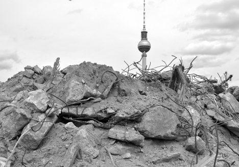 Baustelle Berliner Stadtschloss - Humboldt-Forum, Fernsehturm