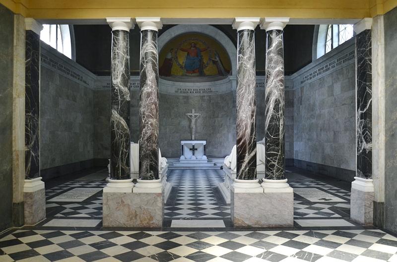Schlosspark Charlottenburg, Mausoleum, Innenraum