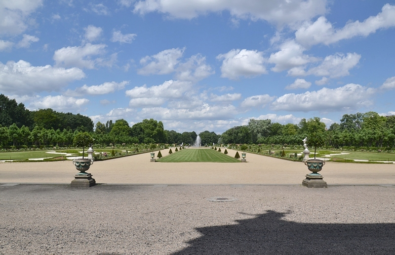 Schlosspark Charlottenburg, Parterre