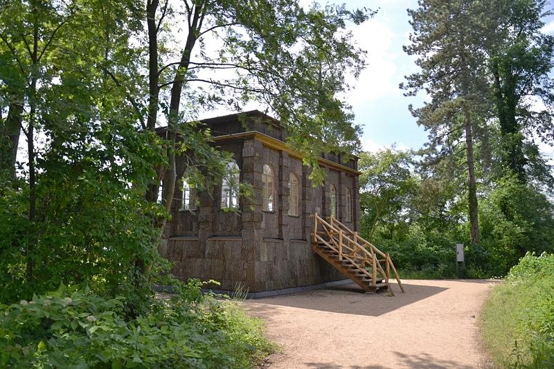Pfaueninsel, Berlin Wannsee, Jagdschirm