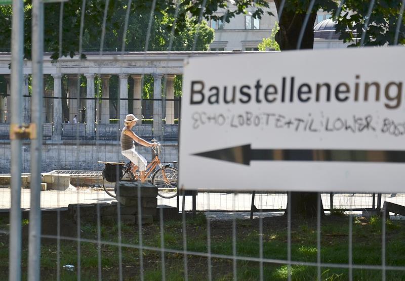 Berlin, Museumsinsel, Baustelle