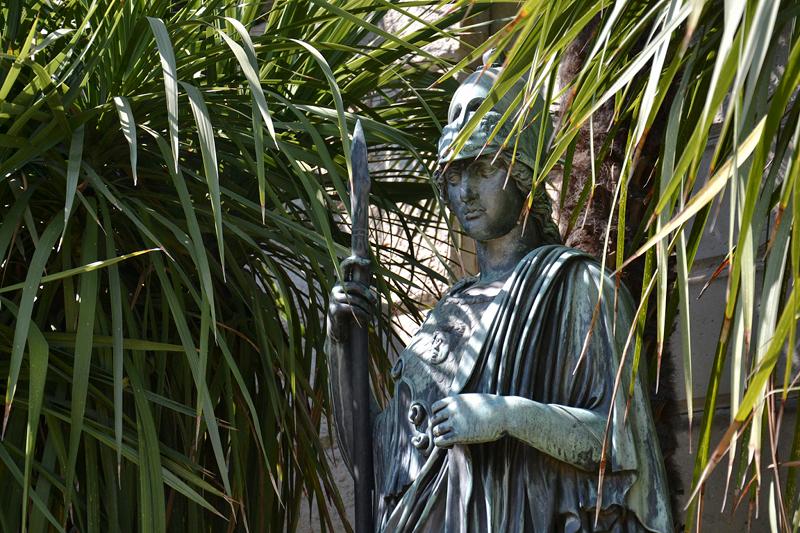 Athena im Sizilianischen Garten, Park Sanssouci
