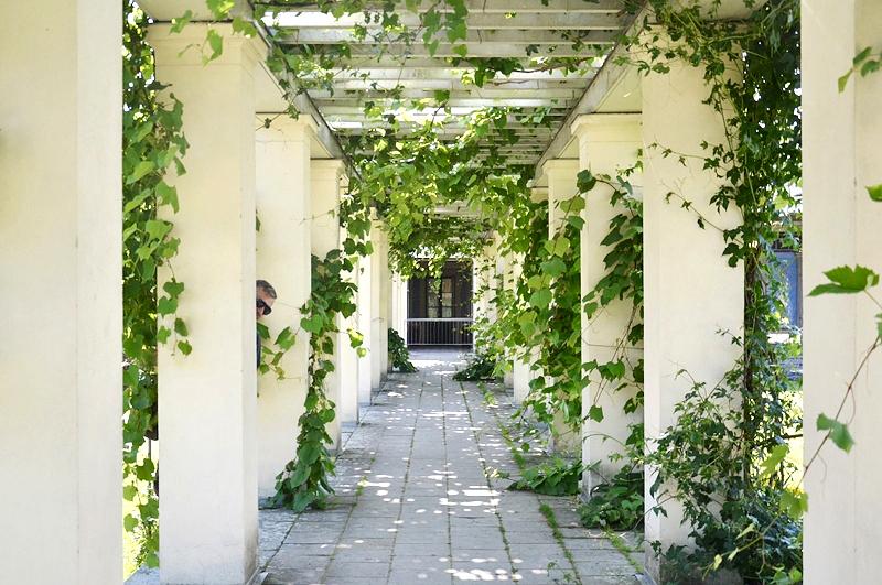Park Sanssouci, Schloss Charlottenhof Laubengang