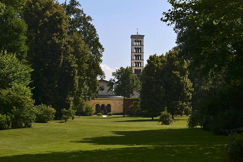 Park Sanssouci, Friedenskirche, Marlygarten