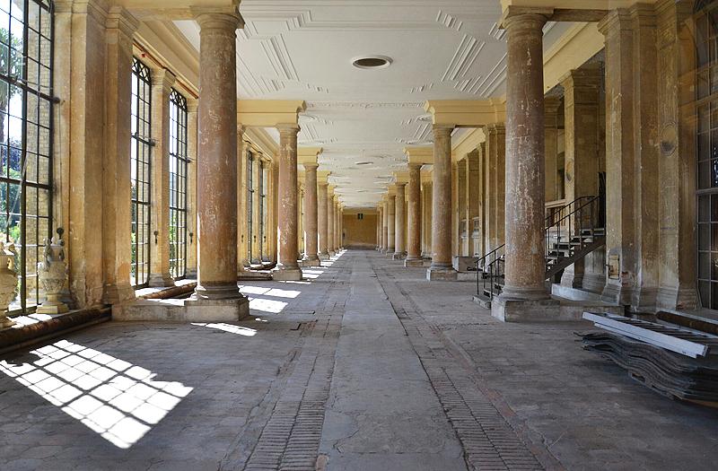Park Sanssouci, Pflanzenhalle im Orangerieschloss