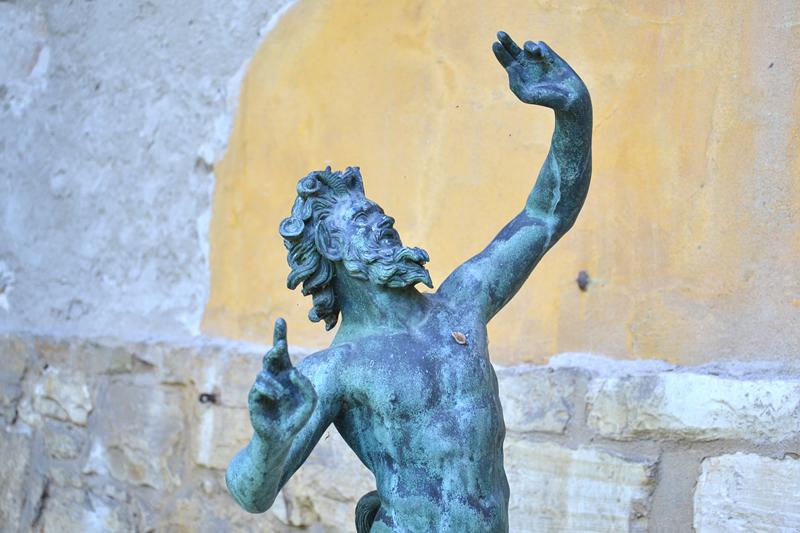 Park Sanssouci, Römische Bäder, Satyr