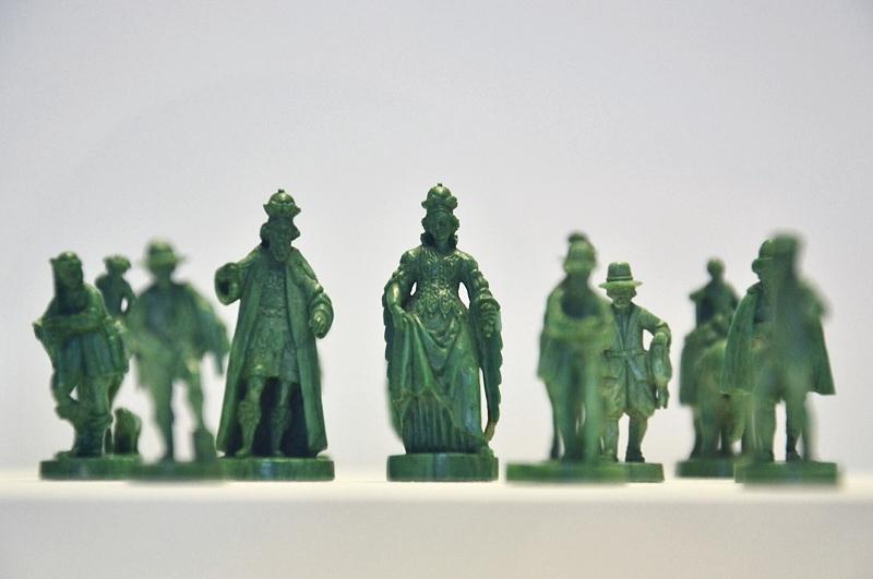 Kunstgewerbemuseum Schloss Köpenick, Schachfiguren aus dem Pommerschen Kunstschrank