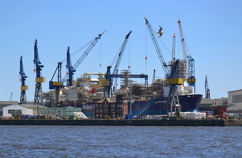 Hamburg Hafen, Container-Terminal