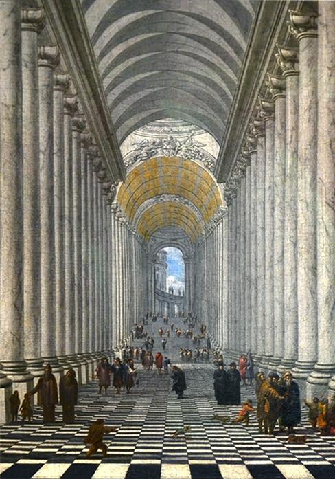 Hamburger Kunsthalle, Wilhelm Schubert von Ehrenberg, Scala Regia