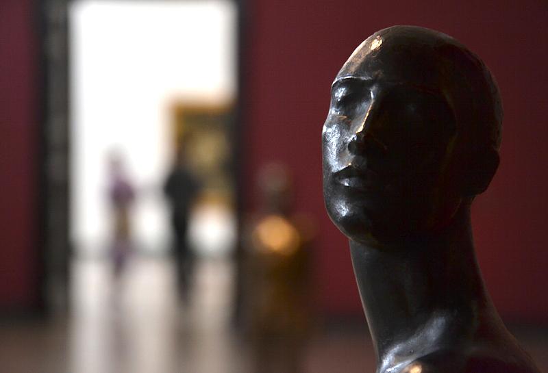Hamburger Kunsthalle, Georg Kolbe, Tänzer Nijinski