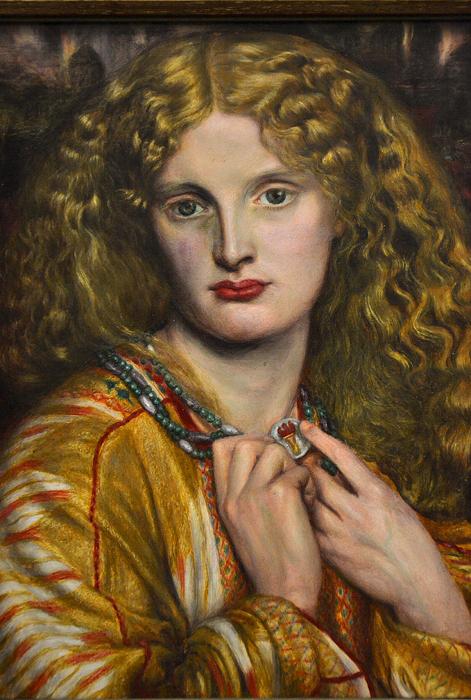 Hamburger Kunsthalle, Dante Gabriel Rossetti, Helen of Troy