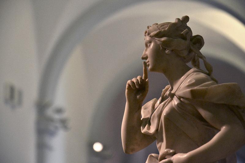 Museum für Kunst und Gewerbe, Allegorie der Verschwiegenheit