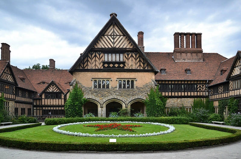 Neuer Garten, Potsdam, Ehrenhof im Schloss Cecilienhof, Fabian Fröhlich