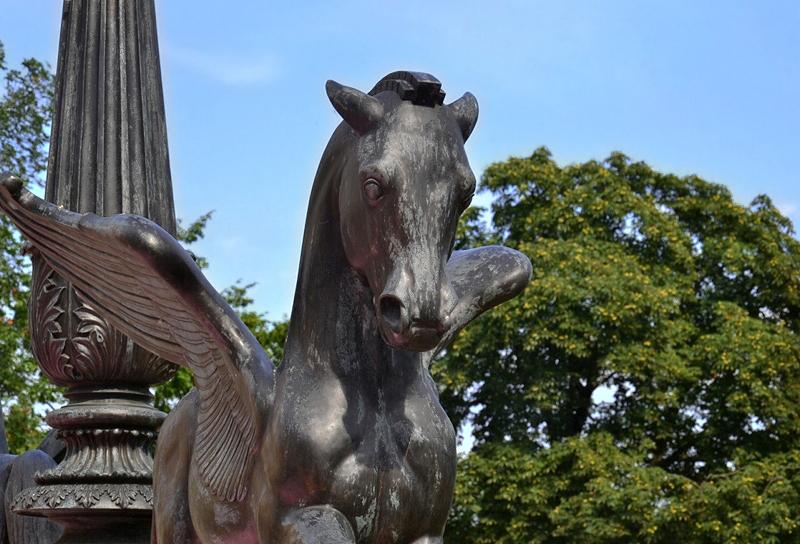 Pegasus am Belvedere auf dem Pfingstberg, Neuer Garten, Potsdam, Fabian Fröhlich