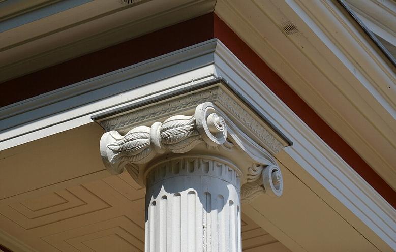 Säulenkapitell am Pomonatempel auf dem Pfingstberg, Potsdam, Fabian Fröhlich
