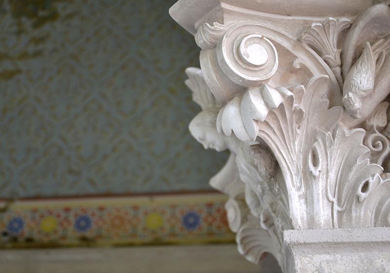 Säulenkapitell im Maurischen Kabinett des Belvedere, Potsdam, Fabian Fröhlich